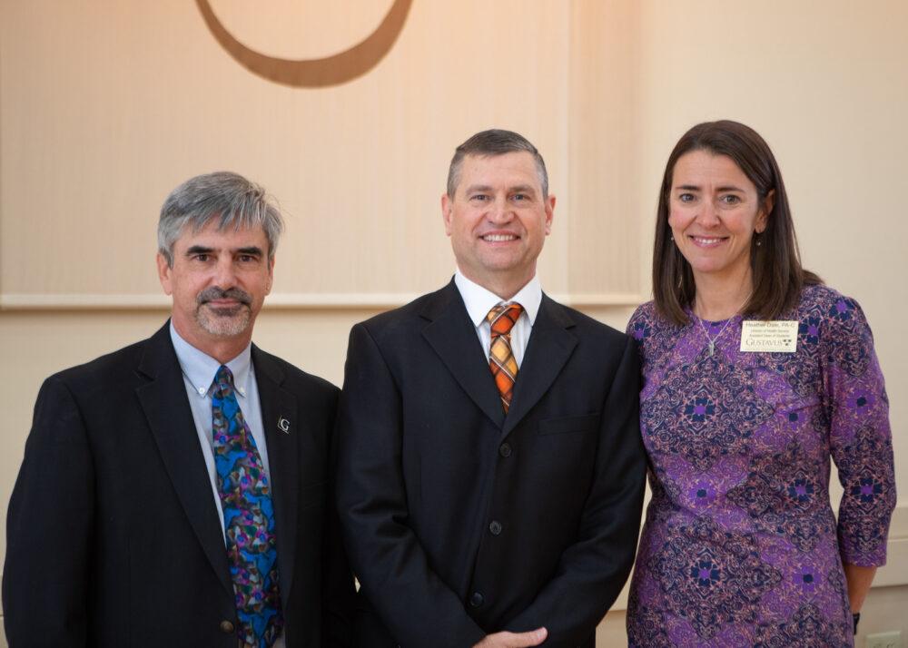 Dr. Tom LoFaro, Scott Meyer, and Heather Dale.